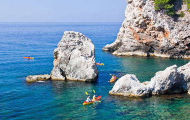 adventure holidays in Croatia