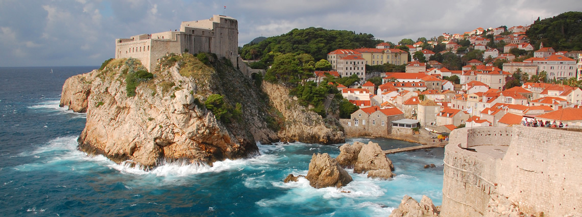 Montenegro, Budva and Dubrovnik