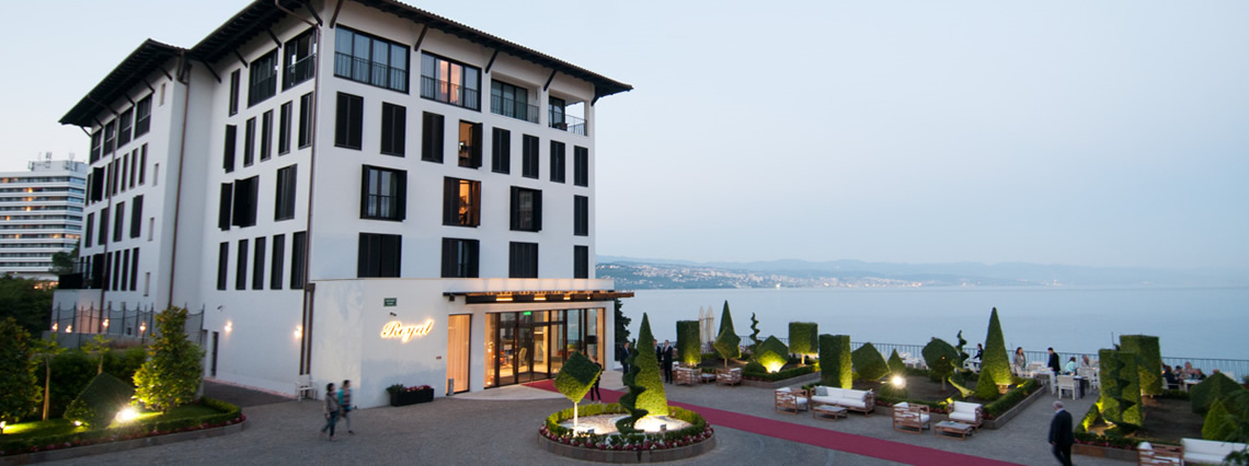 Croatia tours ireland istrian peninsula opatija for Design hotel royal opatija