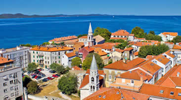 Holidays in Zadar,Croatia from Ireland