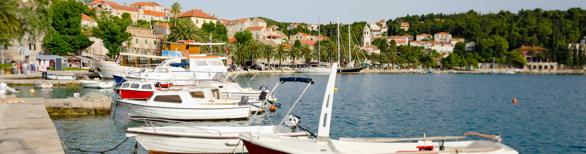 View of small boats and yachts in Cavtat Harbor,.jpg
