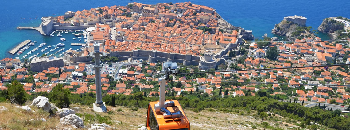 Dubrovnik and Hvar Island second option