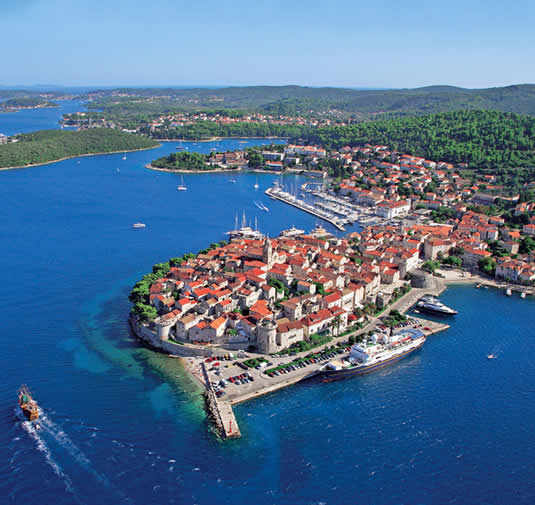 Holidays in Island of Korcula,Croatia from Ireland