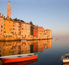 Holidays in Rovinj,Croatia from Ireland