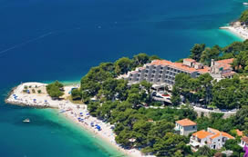 Holidays in Brela,Croatia from Ireland